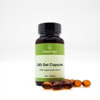 Naked Leaf CBD - Gel Capsules Box