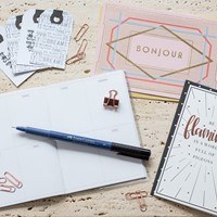 Ink Drops Stationery Selection Box