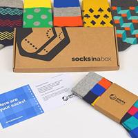 Socks In A Box - Men's Edition